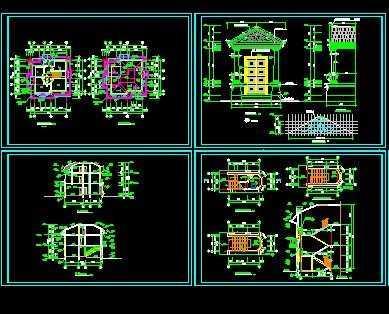 小别墅建筑设计图纸免费下载
