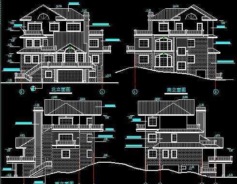 mc别墅承接别墅_mc图纸建筑图纸图片分享v别墅装潢装饰建筑图纸图片