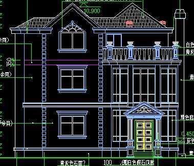 别墅建筑设计图纸免费下载