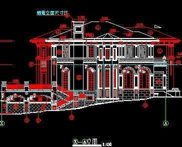 欧式别墅设计图免费下载