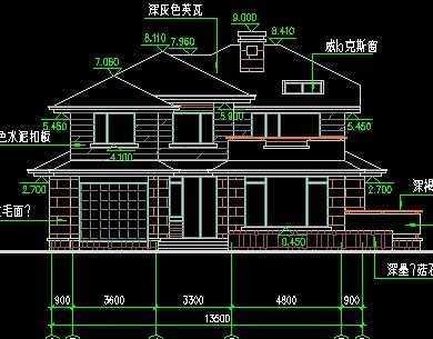 别墅施工图纸