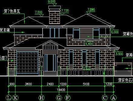 别墅施工图纸 免费下载 - 别墅图纸 - 土木工程网