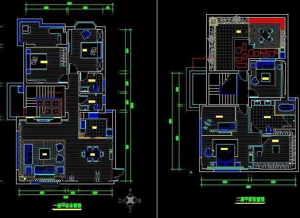 别墅室内装修施工图