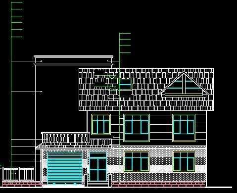 荷兰式别墅施工图
