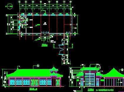 北京四合院建筑施工图免费下载