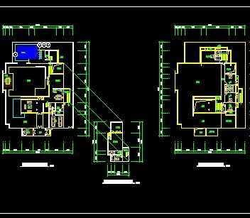 新中式别墅建筑施工图免费下载
