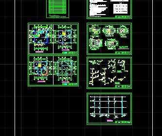 某别墅工程水电施工图