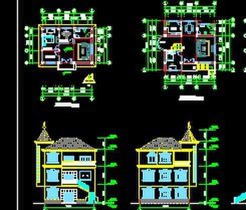 某农村别墅设计图