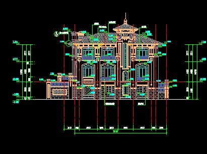 经典别墅施工图