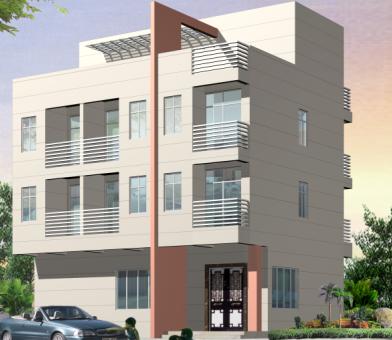 某别墅建筑结构设计图免费下载