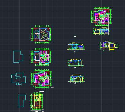 两层欧式别墅设计图免费下载