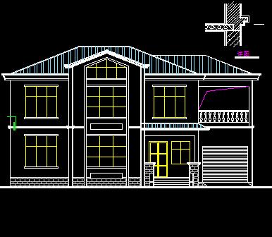 农村别墅施工图纸免费下载 - 别墅图纸 - 土木工程网