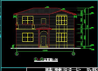 250平米二层独栋别墅设计图纸