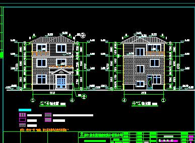 194平方米三层别墅设计图
