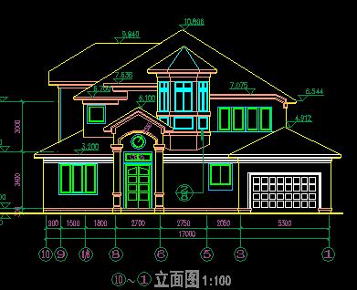 187平米三层独栋别墅设计图