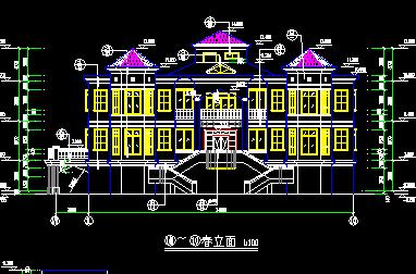 400平方米3层独栋别墅设计图