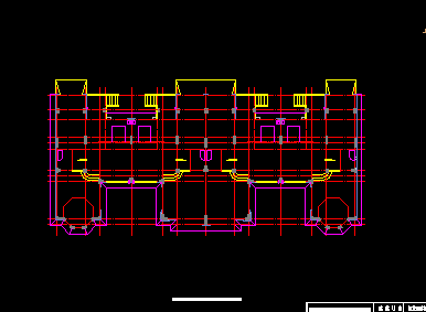三层别墅建筑施工图纸 含水电结构设计图