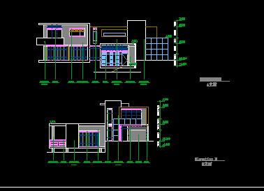 异形现代风二层别墅设计图纸