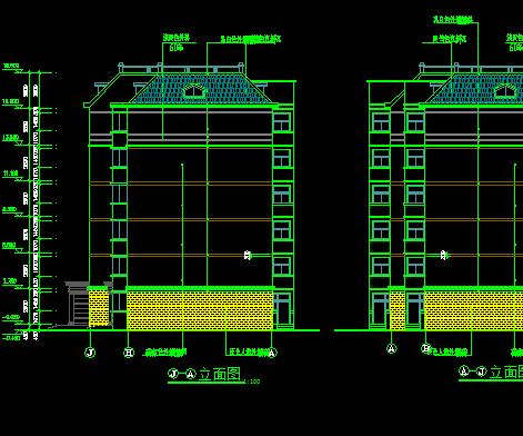 5层方钢表示施工图免费下载-别墅图纸-土木怎么上图纸别墅建筑图片