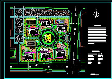 两层办公别墅建筑施工图