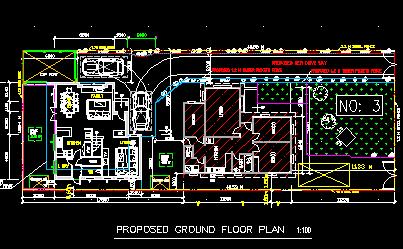 某欧式别墅建筑设计图
