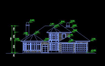 二层独栋别墅设计图纸免费下载 别墅图纸