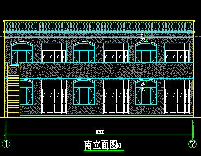 农村住宅楼建筑设计图纸