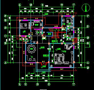 欧式三层别墅建筑结构设计图纸(含效果图)