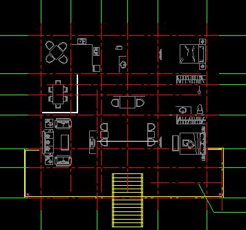 豪华二层别墅施工图纸 含建筑结构水电 效果图