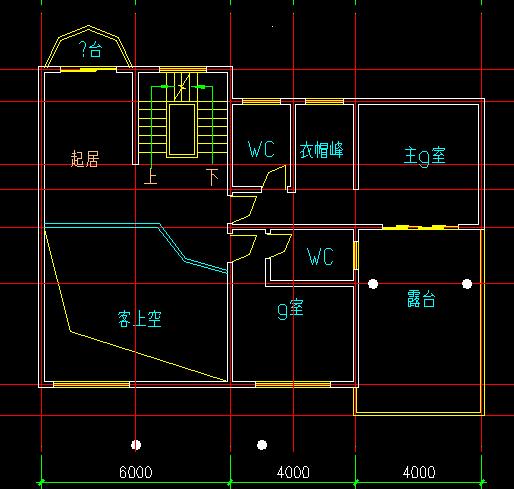 四套三套欧式独栋别墅户型平面图