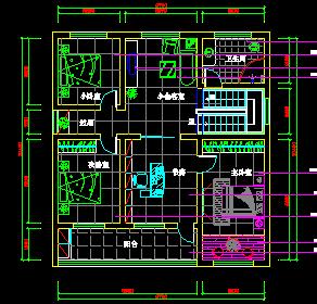 现代欧式风格别墅建筑设计图纸(带效果图)