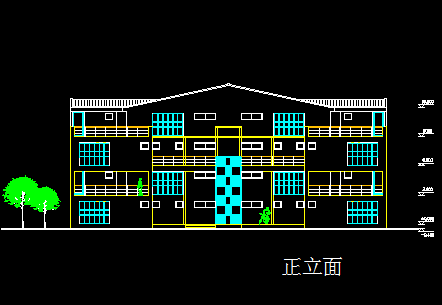 四层别墅建筑设计图纸免费下载 - 别墅图纸 - 土木