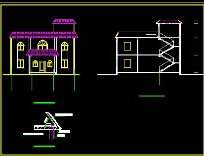 新农村两层别墅设计图