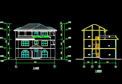 140平米三层独栋别墅设计图