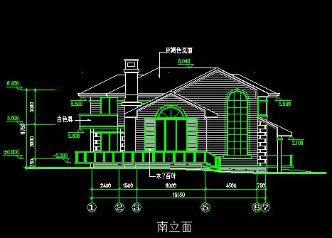 二层别墅建筑设计图纸免费下载 - 别墅图纸 - 土木