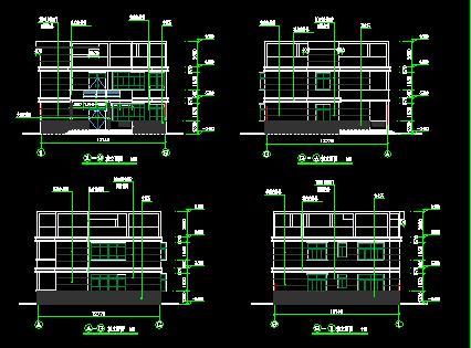 二层农村自建房全套施工图免费下载