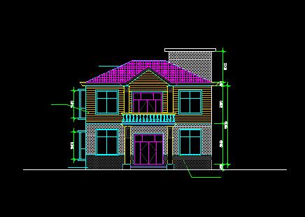 二层独栋别墅设计图免费下载