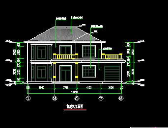 农村自建房施工图纸