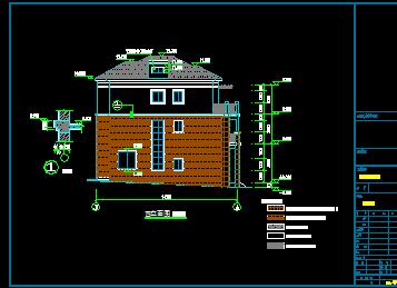新农村自建三层别墅 宽640×422高 农村三层复式跃层别墅设计图 宽图片
