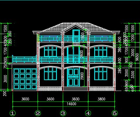 二层别墅施工图纸免费下载 - 别墅图纸 - 土木工程网