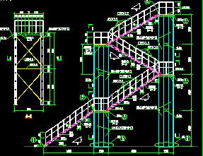 消防图库设计图免费下载-建筑基础、楼梯管道图纸详图图片