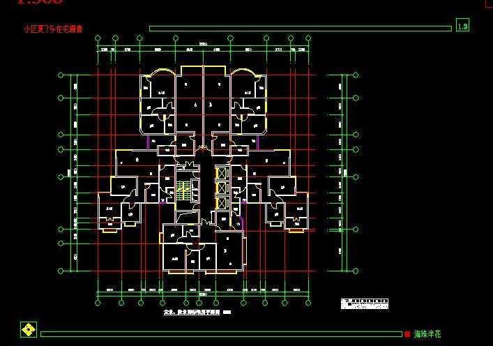 海珠半岛花园小区规划图