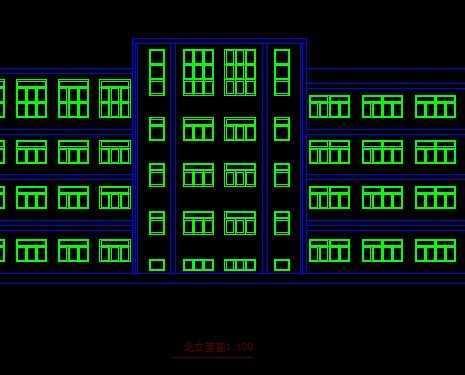 某中学的教学楼设计图