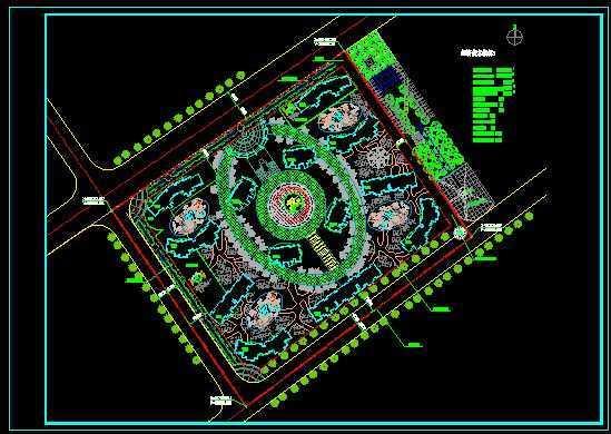 小区规划总平面图免费下载