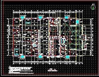 手机展厅设计cad;