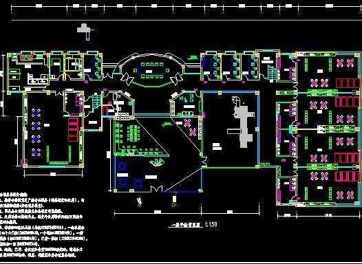 幼儿园平面设计图免费下载 建筑装修图 高清图片