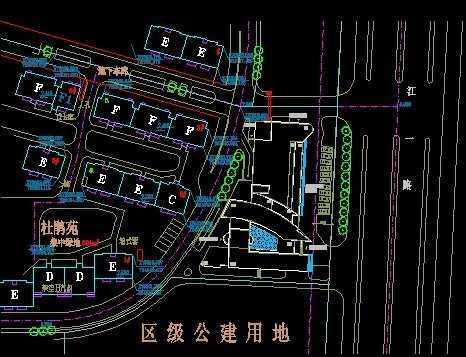 建筑规划图 - 土木