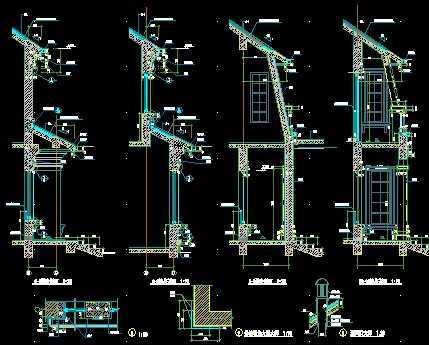 某别墅住宅区建筑施工图