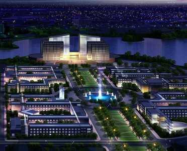 某大学新校区建筑工程规划施工图