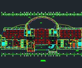 某酒店建筑平面设计图
